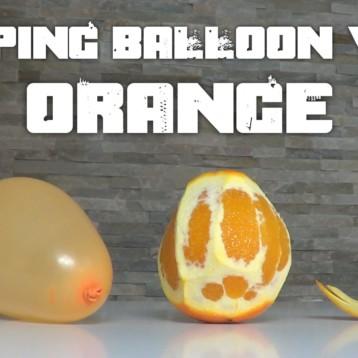 Balónek a pomerančová kůra