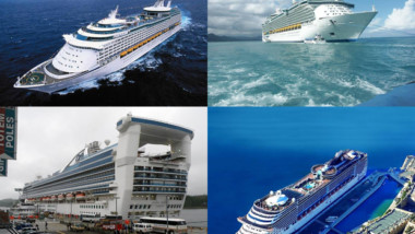 TOP 10: Největší výletní lodě světa.