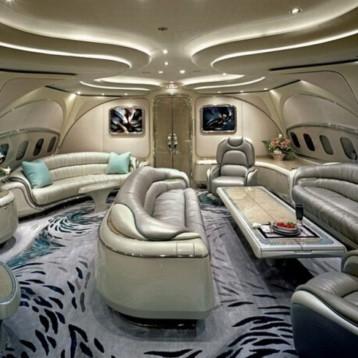 Nejluxusnější interiéry letadel