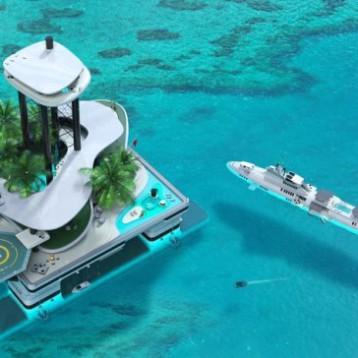 Nový trend mezi miliardáři. Soukromé mobilní ostrovy.