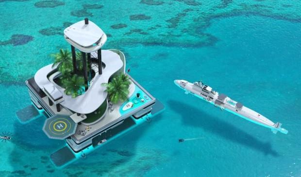 mobilni ostrov