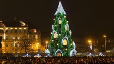 11 nejkrásnějších vánočních stromků z celého světa