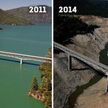 Dramatické snímky NASA o změně povrchu Země v posledních desetiletích
